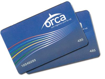 ORCA regional card